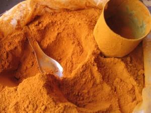 Poudre de Curcuma bio riche en antioxydant naturel puissant